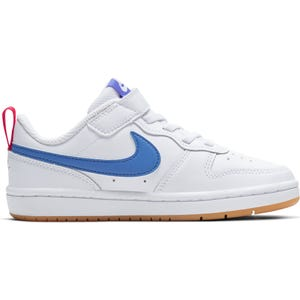 Zapatillas Urbanas Niño Nike COURT BOROUGH LOW 2 Blanca