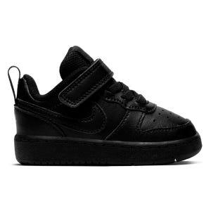 Zapatillas Urbanas Infantil Nike Court Borough Negras