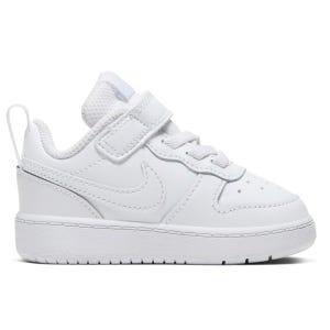 Zapatillas Urbanas Infantil Nike Court Borough Blancas