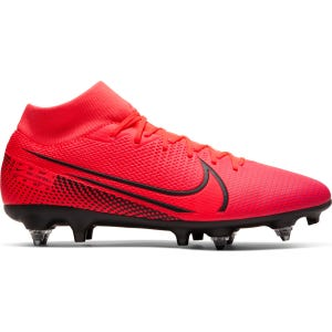 Zapatos Fútbol Hombre Nike Mercurial Superfly 7 Academy SG-PRO Anti-Clog Traction Rojo