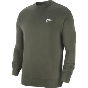 Polerón Urbano Hombre Nike Sportswear Club Verde Oscuro