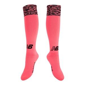 Calcetines Fútbol Mujer New Balance Rosado