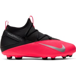 Zapatos Fútbol Niño Nike Phantom Vision 2 Club Dynamic Fit MG Rojo