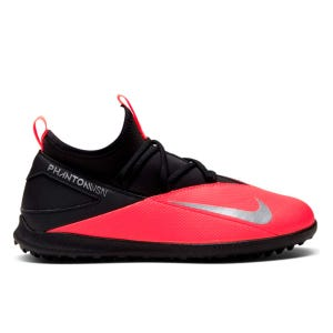 Zapatillas Babyfútbol Niño Nike Phantom Vision 2 Club Dynamic Fit TF Roja