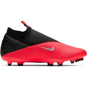 Zapatos Fútbol Hombre Nike Phantom Vision 2 Club Dynamic Fit MG Rojo
