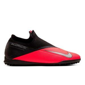 Zapatillas Babyfútbol Hombre Nike Phantom Vision 2 Academy Dynamic Fit TF Roja