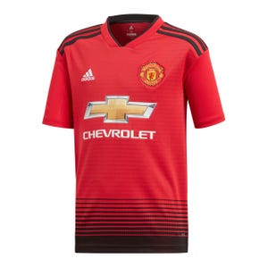 Camiseta Local Manchester United Niño Adidas 2018
