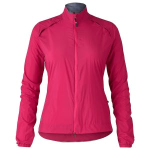 Chaqueta Ciclismo Mujer Bontrager Circuit Wind Fucsia