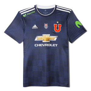 Camiseta Local Universidad de Chile Hombre Adidas 2018 Azul Marino