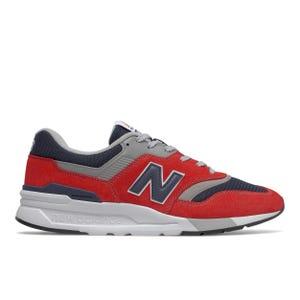 Zapatillas Urbanas Hombre New Balance 997H Rojo