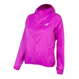 Cortaviento Running Mujer New Balance Windjacket Packable Morado