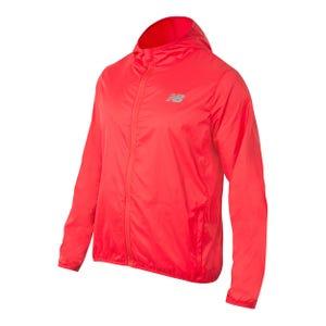 Cortaviento Running Hombre New Balance Windjacket Packable Rojo
