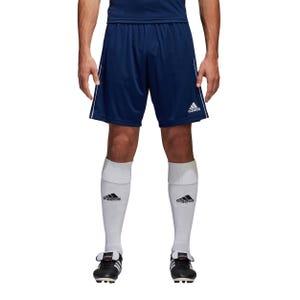 Short Fútbol Adidas Hombre Core 18 Azul