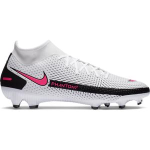 Zapatos Fútbol Hombre Nike Phantom GT Academy Dynamic Fit MG Blanco