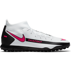 Zapatillas Babyfútbol Hombre Nike Phantom GT Club Dynamic Fit TF Blanco