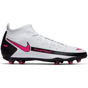 Zapatos Fútbol Hombre Nike Phantom GT Club Dynamic Fit MG Blanco