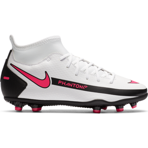 Zapatos Fútbol Niño Nike Jr. Phantom GT Club Dynamic Fit MG Blanco