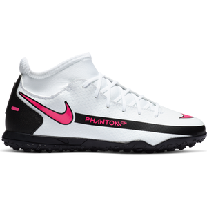 Zapatillas Babyfútbol Niño Nike Jr. Phantom GT Club Dynamic Fit TF Blanco
