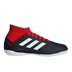 Zapatillas Fútbol Sala Niño Adidas Predator Tango 18.3 IN Negra/Roja