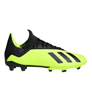 Zapatos Fútbol Niño Adidas X 18.1 FG Amarillo/Negro