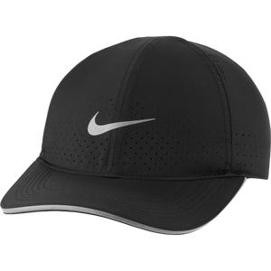 Jockey Running Unisex Nike Dri-FIT Aerobill Featherlight Negro