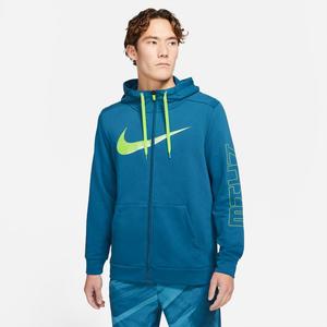 Polerón Entrenamiento Hombre Nike Dri-FIT Sport Clash Azul