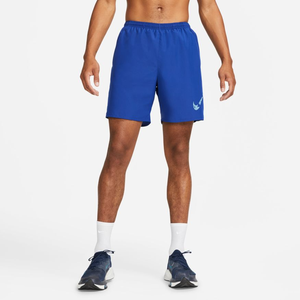 Short Running Hombre Nike  Dri-FIT Run Wild Azul