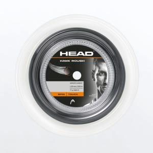 Carrete de cuerda Tenis Head Hawk Rough 200m 16g Gris