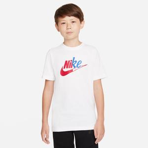 Polera Urbana Niño Nike Sportswear Blanco