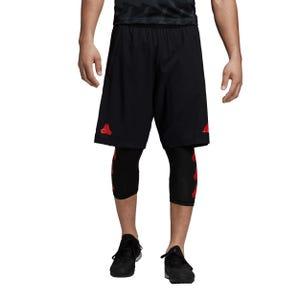 Short Fútbol Hombre Adidas Tan Training Negro