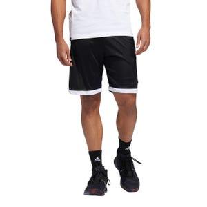 Short Básquetbol Hombre Adidas Lillard Negro