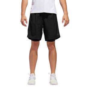 Short Hombre Adidas Dos-en-Uno Own The Run Negro