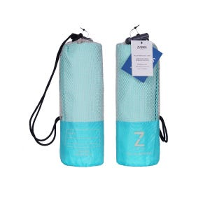Toalla Zvibes Microfibra Melange Grande Azul