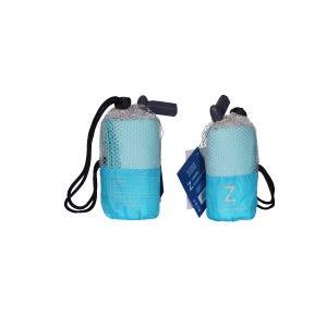 Toalla Zvibes Microfibra Melange Pequeña Azul