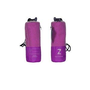 Toalla Zvibes Microfibra Melange Mediana Purpura