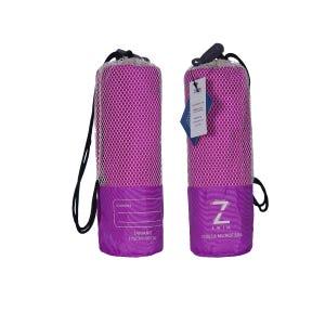 Toalla Zvibes Microfibra Melange Grande Purpura