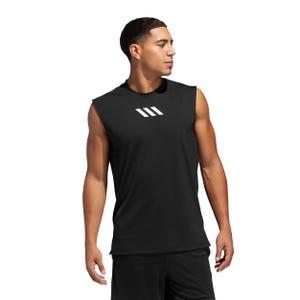 Polera Básquetbol Hombre Adidas Pro Madness Negro