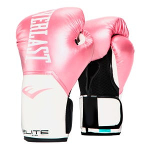 Guantes Box Everlast Pro Stile Elite TRN Rosado