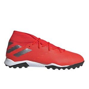 Zapatillas Futbolito Hombre Adidas Nemeziz 19.3 TF Roja/Plata