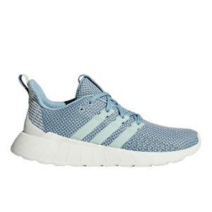 Zapatillas Running Mujer Adidas Questar Flow Celeste
