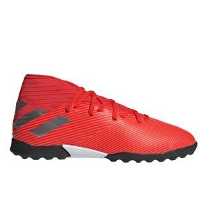 Zapatillas Futbolito Niño Adidas Nemeziz 19.3 TF Roja/Plata