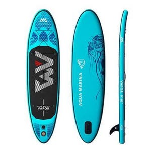 Stand Up Paddle Inflable Aqua Marina Vapor Celeste