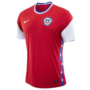 Polera Futbol Niño Nike Chile Local 2020/2021 Rojo