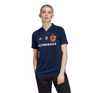 Camiseta Mujer Adidas Local Universidad de Chile
