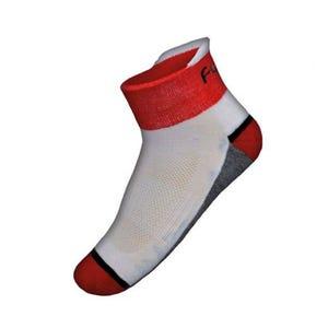 Calcetines Ciclismo Funkier Volpiano Blanco/Rojo