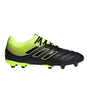 Zapatos Fútbol Hombre Adidas Copa 19.3 FG Negro/Amarillo