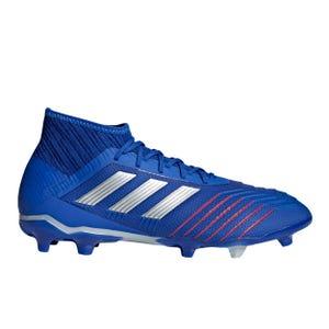 Zapatos Fútbol Hombre Adidas Predator 19.2 FG Azul/Blanco