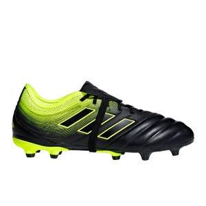 Zapatos Fútbol Hombre Adidas Copa Gloro 19.2 FG Negro/Amarillo