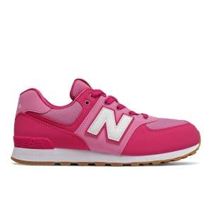 Zapatillas Urbanas Niña New Balance 574 Rosadas
