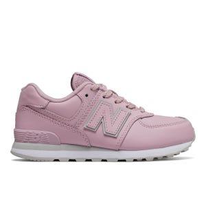 Zapatillas Urbanas Niña New Balance 574 Rosada